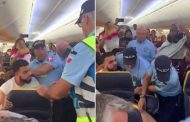 Ryanair passenger is hauled off a plane by Portuguese police | Daily