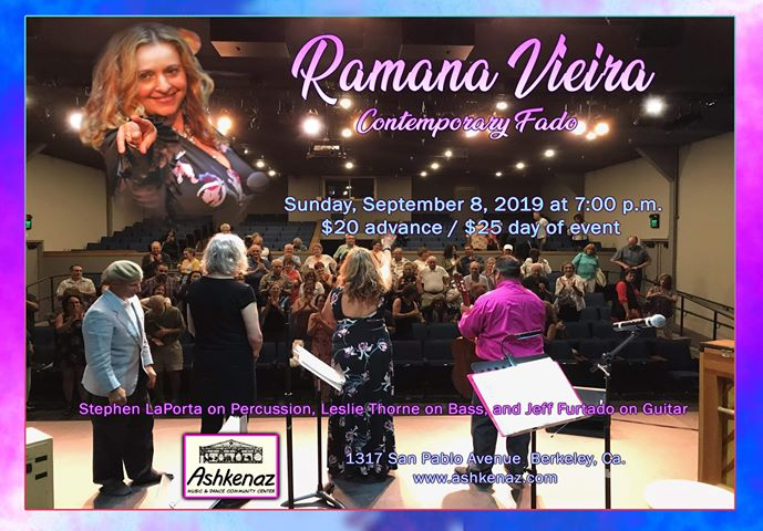 Ramana - Contemporary Fado Performance - Today!