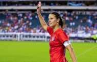 Carli Lloyd celebrated a goal against Portugal with a tribute to the Philadelphia Eagles and a nod to the NFL -