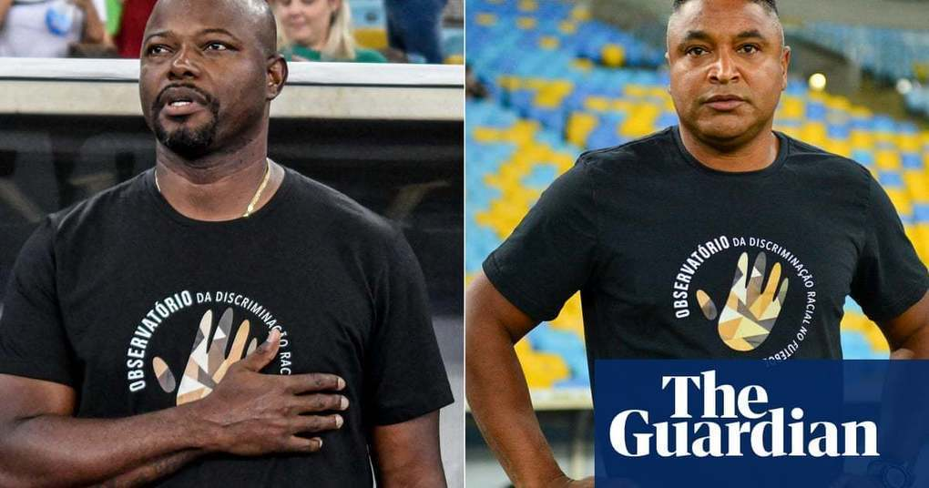 Black football managers join forces in Maracanã to condemn racism in Brazil | Football | The Guardian -