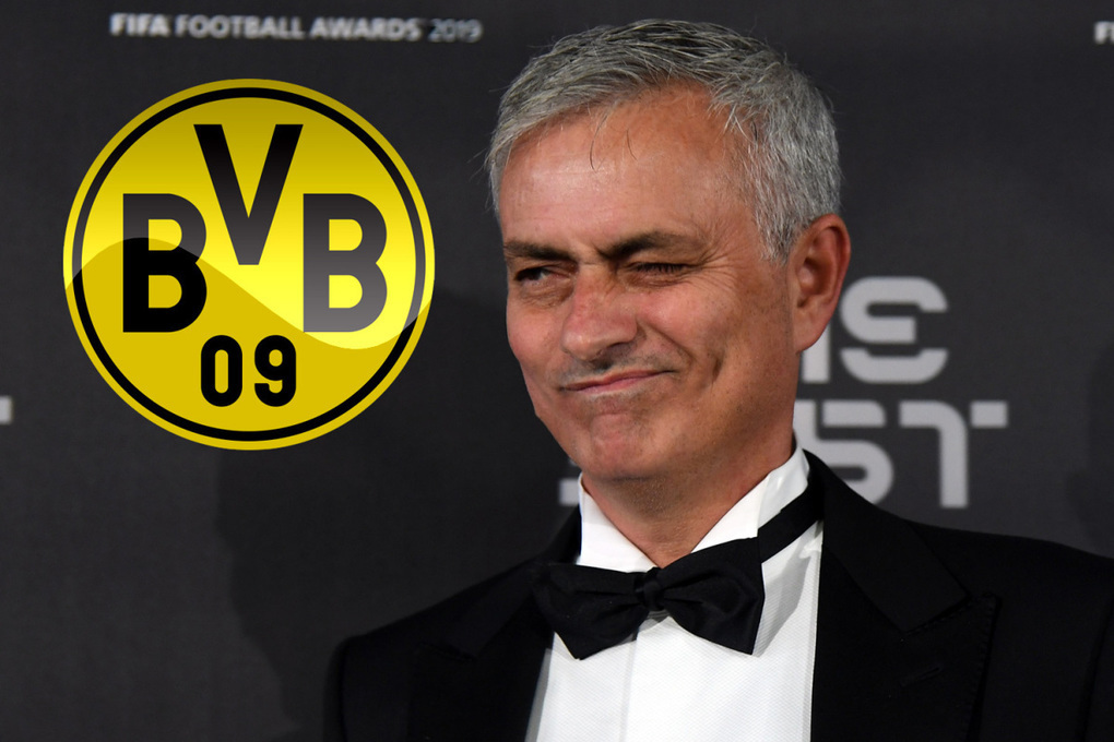 Borussia Dortmund 'in regular contact' with Jose Mourinho over becoming new boss… and he is already learning German –