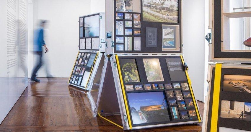 fernando guerra exhibition in lisbon designed by diogo aguiar studio