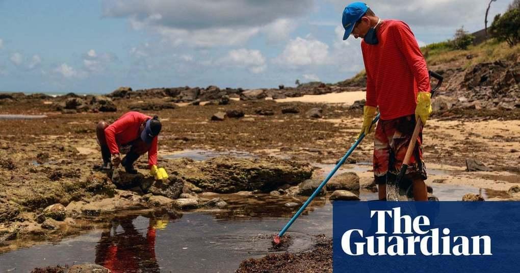 Brazil blames devastating oil spill on Greek-flagged tanker | World news | The Guardian -