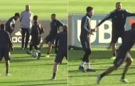 Cristiano Ronaldo embarrassed in training by Juventus team-mate | Daily -