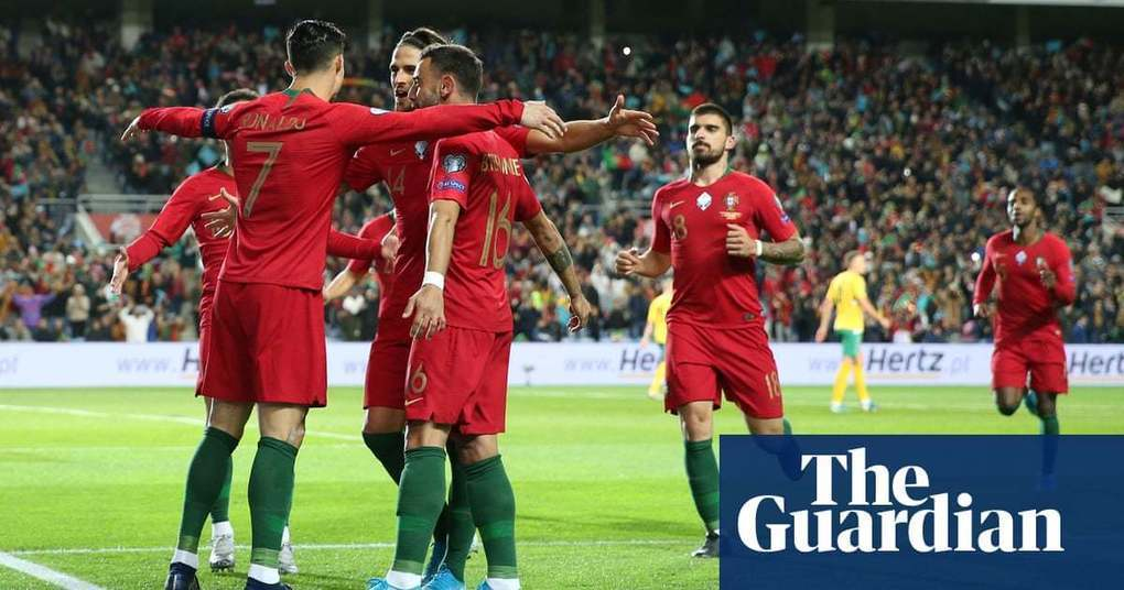 Euro 2020 roundup: Cristiano Ronaldo hat-trick fires Portugal to verge of finals | Football | The Guardian -