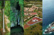 Incríveis imagens aéreas da Ilha de São Miguel -