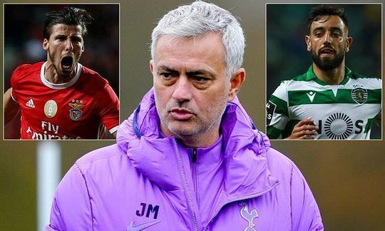 Jose Mourinho wants Bruno Fernandes and Ruben Dias as first Tottenham signings | Daily -