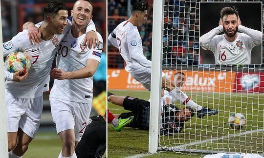 Portugal 2-0 Luxembourg : Reigning European champions seal qualification for Euro 2020 | Daily -