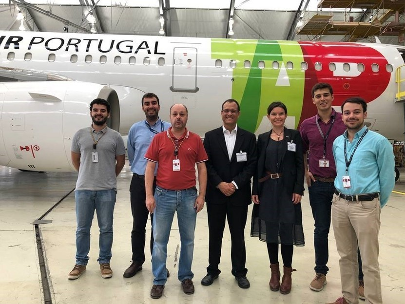 Recaro tests first connected economy seat on TAP Air Portugal aircraft - RECARO Aircraft Seating -