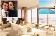 Inside Cristiano Ronaldo's new £6m luxury Lisbon flat featuring gym and indoor pool close to bedsit he lived in as a kid –