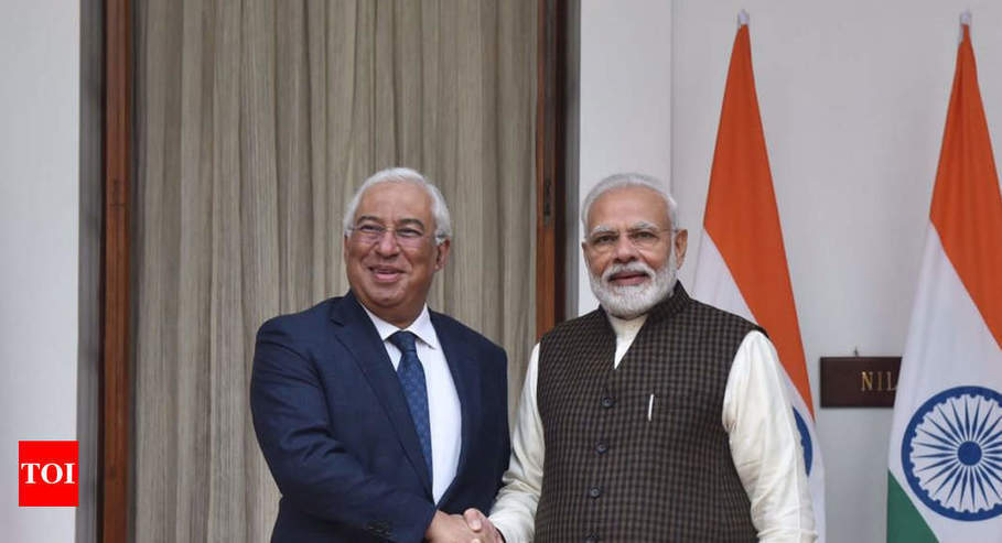 PM Modi meets Portuguese PM, discusses broader roadmap for strengthening bilateral relations | Times of India -