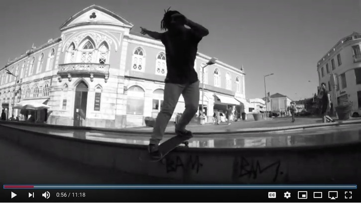 """Roots"" Skateboarding by ÓMAIS from Oeiras, Portugal -"
