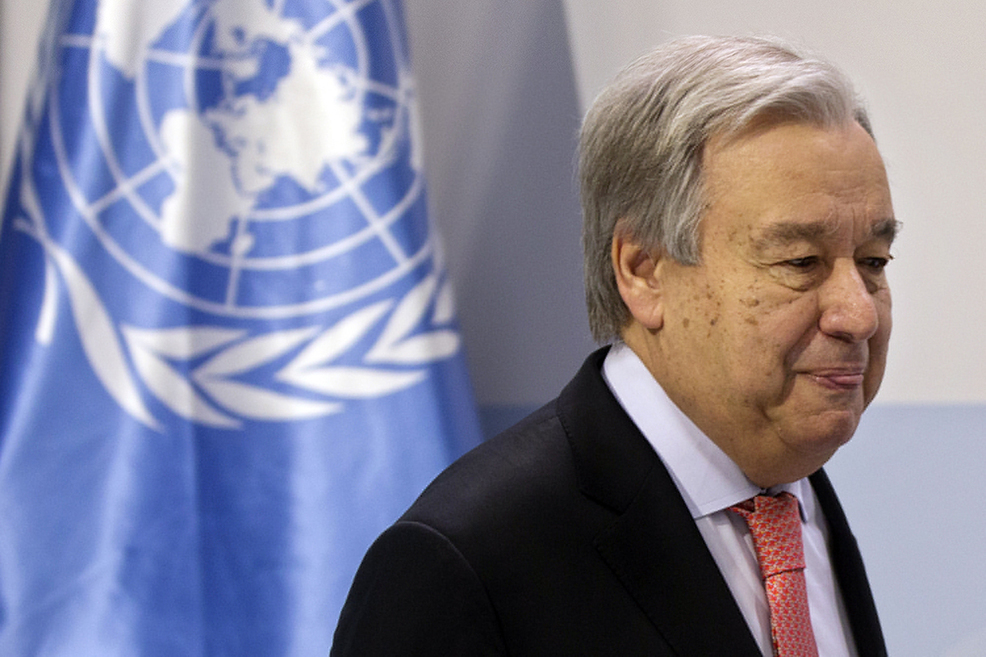 U.N. chief warns of 'point of no return' on climate change -