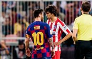 Lionel Messi clashes with Joao Felix in Spanish Super Cup -