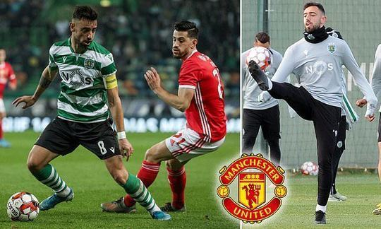 Sporting Lisbon coach insists Bruno Fernandes is NOT on brink of Manchester United move | Daily -