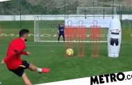 Bruno Fernandes scores stunning free-kick in training ahead of Chelsea vs Man Utd | Metro News -