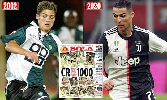 Cristiano Ronaldo set to make 1000th senior appearance of his career when Juventus travel to SPAL | Daily -