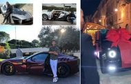Life in the fast lane: Cristiano Ronaldo's ever-growing garage of supercars | Daily -