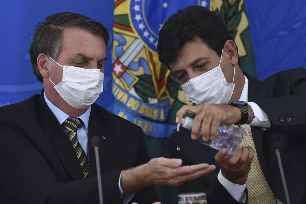 Brazil's Bolsonaro strives to regain leadership amid virus