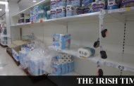 Coronavirus: Toilet paper manufacturer struggles to meet 'unprecedented demand' -