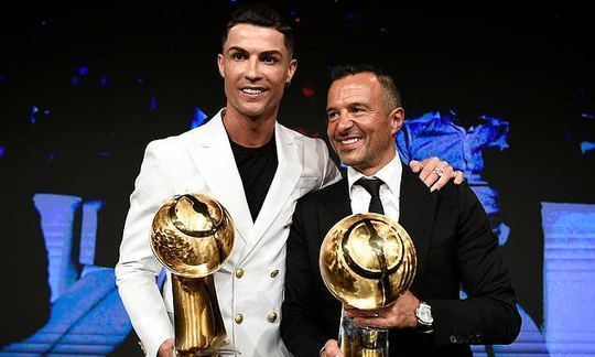 Cristiano Ronaldo and Jorge Mendes' donation to help fight COVID-19 is worth £1million | Daily -