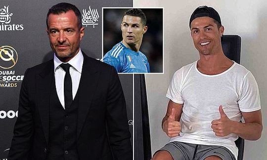 Cristiano Ronaldo and Jorge Mendes 'to fund Portuguese hospital's fight against coronavirus' | Daily -