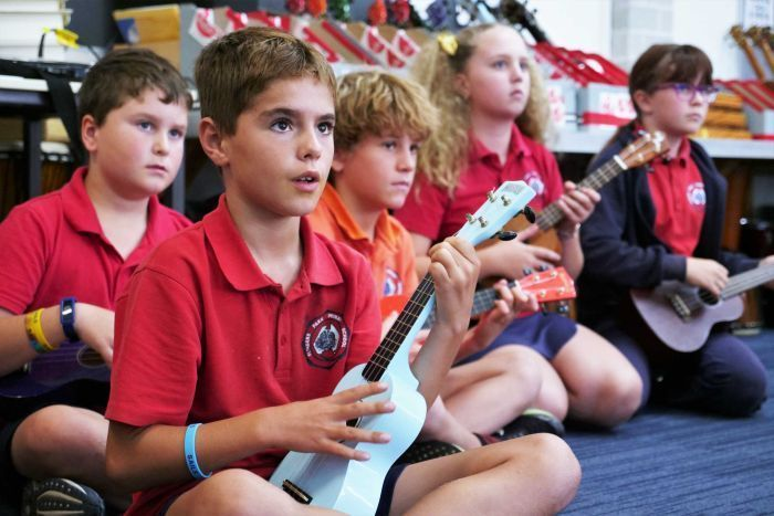 'It's the happy instrument': Surge in popularity of ukulele shows no sign of slowing down -