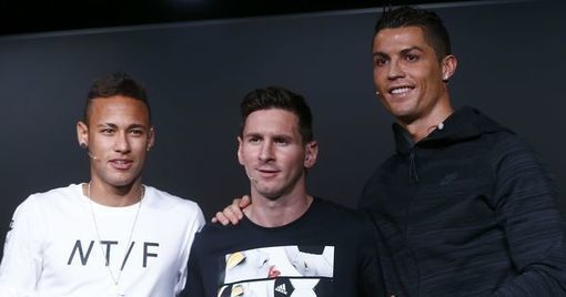 Messi ahead of Ronaldo and Neymar in world's best-paid footballers list, says study -