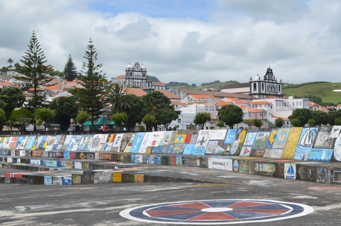 "The Azores: The incredible ""sea art"" of Horta on Faial -"