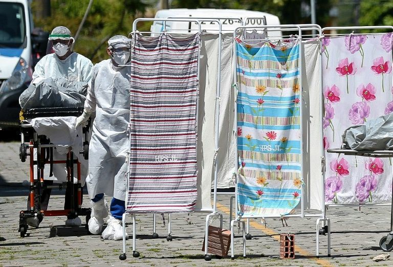 Brazilian city of Manaus fighting 'horror movie' pandemic conditions -