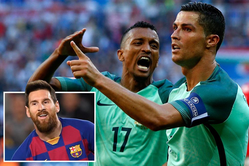 Cristiano Ronaldo the 'best player ever', beating Messi, Pele and Maradona, says ex-Man Utd star Nani –
