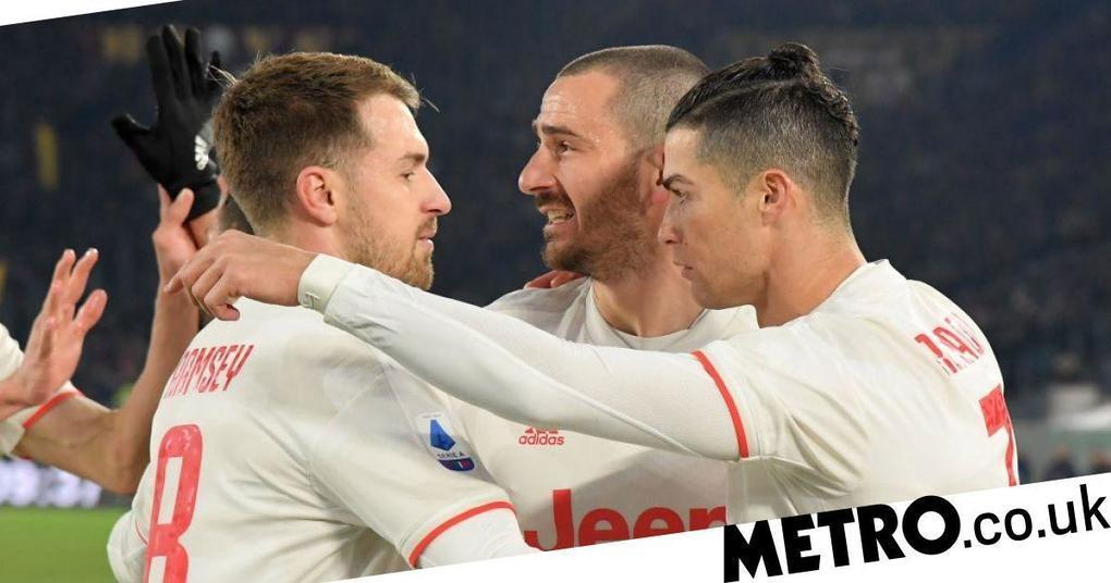 Former Arsenal star Aaron Ramsey hails 'unbelievable' Juventus teammate Cristiano Ronaldo   Metro News -