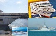 Venezuelan warship RAMS German cruise liner -sails under the Portuguese flag | Daily -