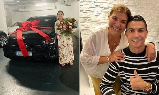 Cristiano Ronaldo treats his mother to a new Mercedes for Mother's Day | Daily -