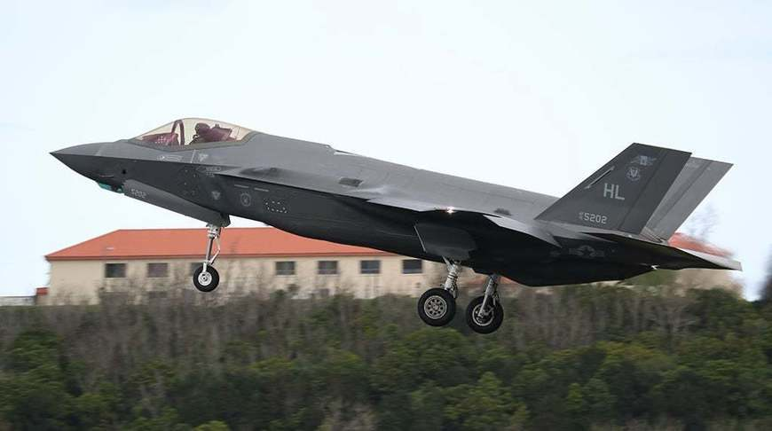 Hill Air Force Base's F-35As Return Home From Middle East Deployment land at Lajes Field, Terceira, Azores–