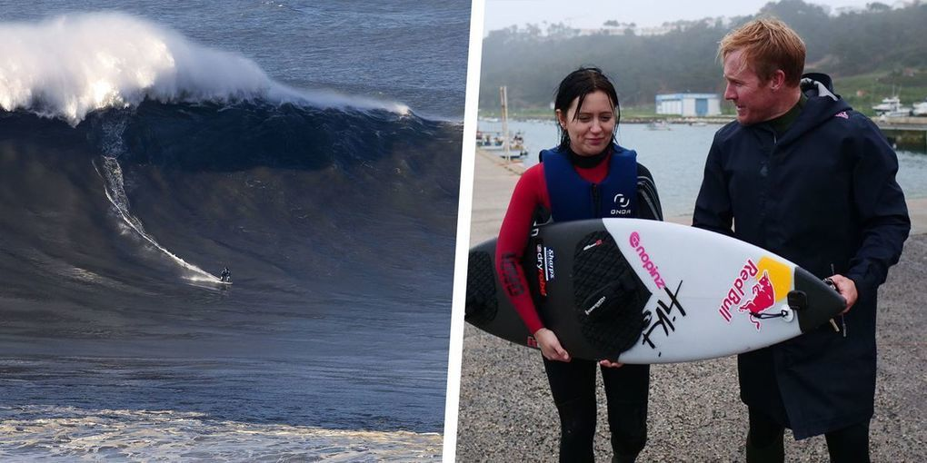Surfing With Andrew Cotton: Learning to