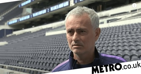 Jose Mourinho reacts to Premier League restarting amid coronavirus pandemic | Metro News -