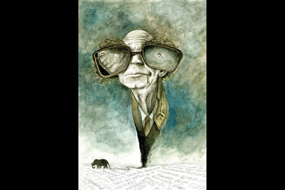 Caricatures of José Saramago on display in virtual exhibition -