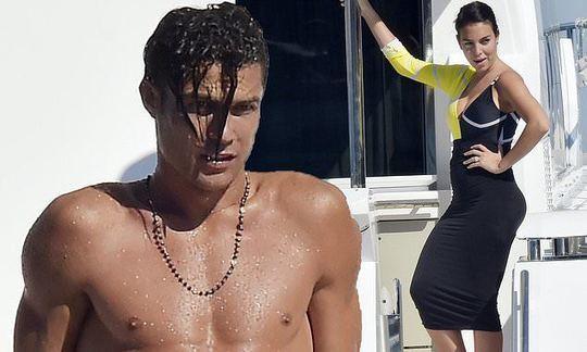 Cristiano Ronaldo and partner Georgina Rodríguez soak up the sun aboard luxury yacht in Portofino | Daily -