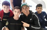 Cristiano Ronaldo plays football with disabled child in heartwarming video: Watch -