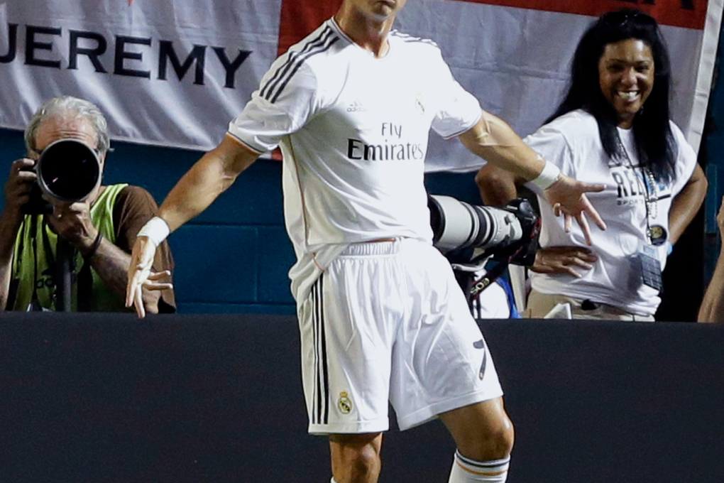 Cristiano Ronaldo says iconic 'Sii' celebration was born against Chelsea during a pre-season friendly in the USA –