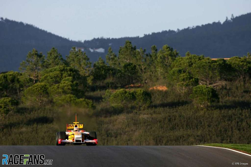 Ocon already practising Algarve circuit for possible F1 race -