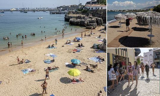Portugal ready to offer quarantine-free holidays to Brits from this weekend and Greece could follow | Daily -