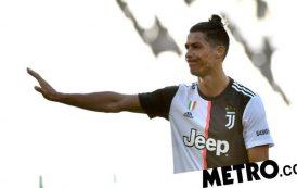 Cristiano Ronaldo makes Juventus history and sets immense goal-scoring record   Metro News -