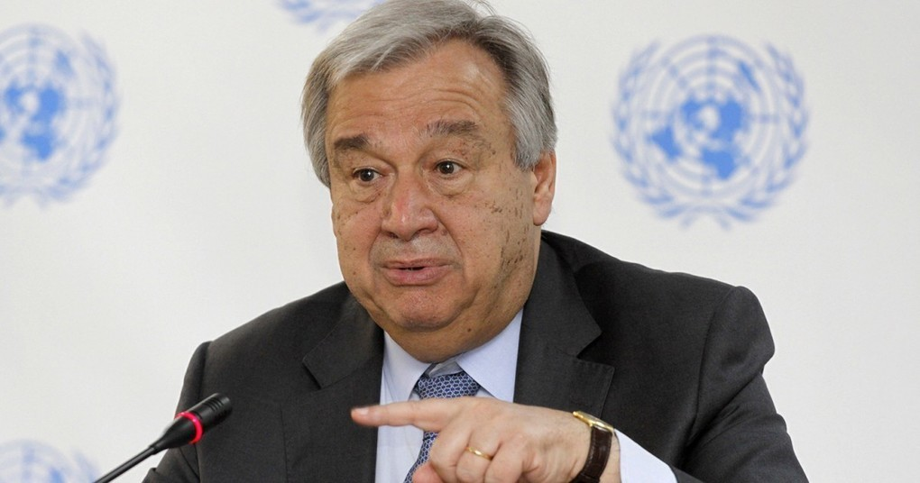 UN secretary-general calls for 'New Global Deal' to construct new governance model to fight future viruses -