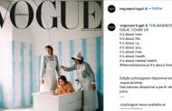 Vogue Portugal defends controversial mental health front cover -