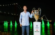 Heineken® 'Painted' Portugal Green to launch the UEFA Champions League action in Lisbon -