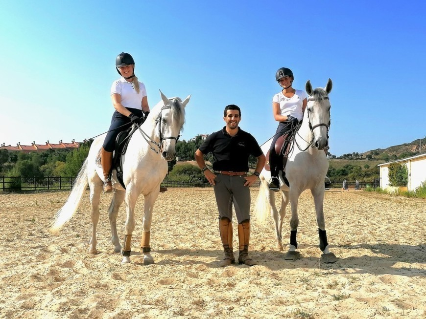 Lusitano Dressage riding holiday in Portugal -