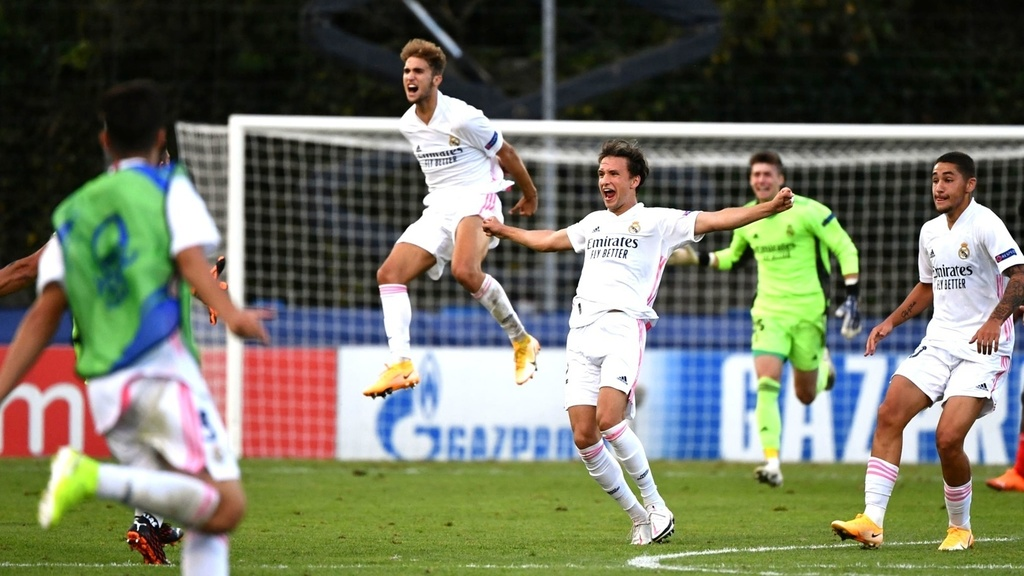 Real Madrid clinch historic Youth League triumph over Benfica -