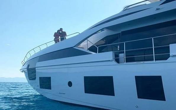 Ronaldo celebrates Serie A title win with £5.5m luxury yacht -